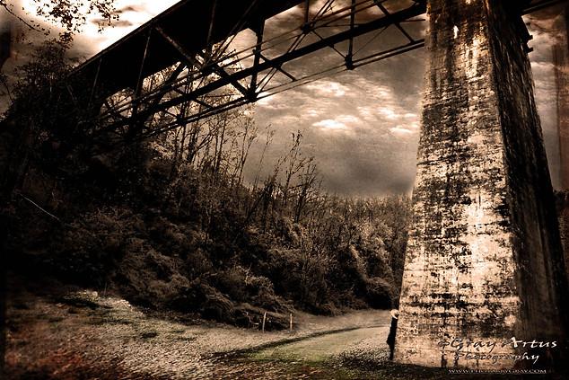Train Crossing - Gray Artus