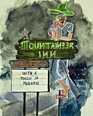 Day 24_#asheville icon _ Mountaineer Inn