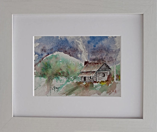 Blue Ridge Cabin - Gray Artus