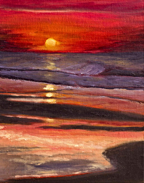 Topsail Sunrise - Gray Artus