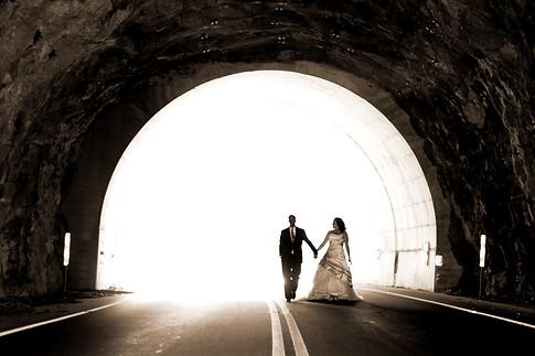 Blue Ridge Parkway wedding - Gray Artus