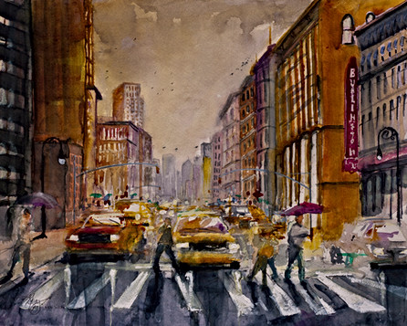 New York City - Gray Artus