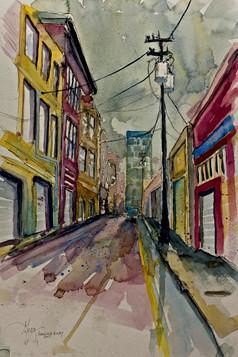 Asheville Alley - Gray Artus