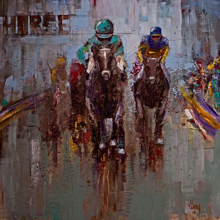Race Horse - Gray Artus