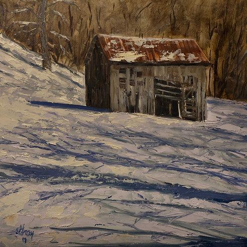 Shadows - Original oil painting by Gray Artus