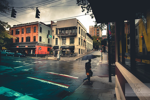 Rainy Day Asheville - Gray Artus