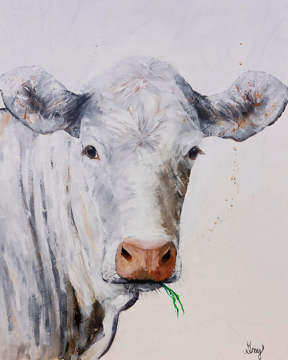 Acrylic on canvas by Gray Artus