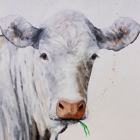 Cow painting for love