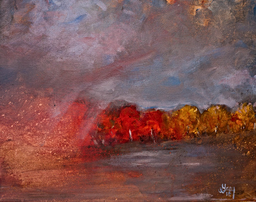 Late Fall Storm - Gray Artus