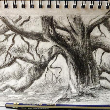 Sketch - Angel Tree