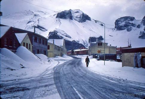 15.febrúar við Eyjabúð