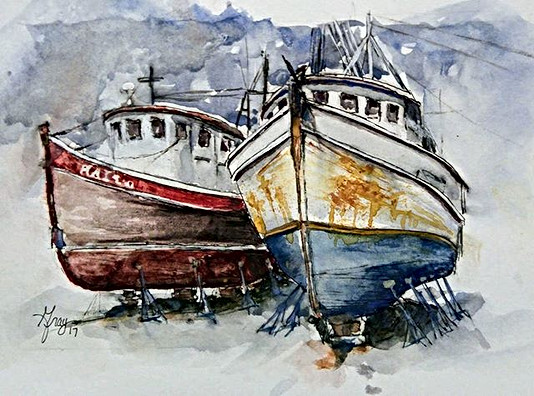 Day 28_5x7 watercolor on cold press_Www.