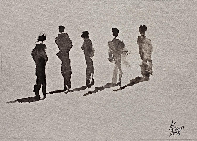 Silhouttes - Gray Artus