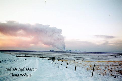 Séð úr Fljótshlíðinni
