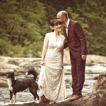 Sneak Peek into Zack and Molly's wedding 8-9-14