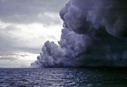 Minnir á Surtseyjargos