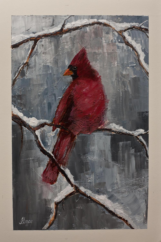 Winter Cardinal - North Carolina State Bird