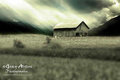Morgan Branch Barn - Gray Artus