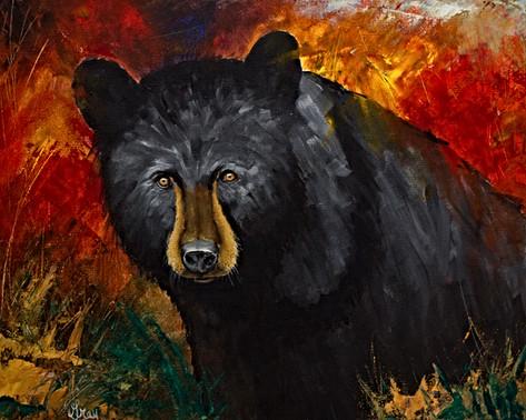 Smoky Mountain Black Bear - Gray Artus