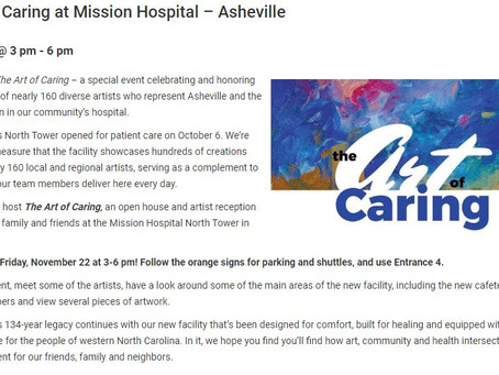 The Art of Caring at Mission Hospital - Asheville