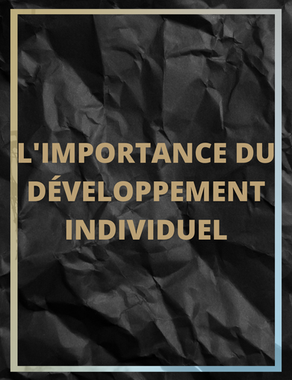 L'importance du développement individuel