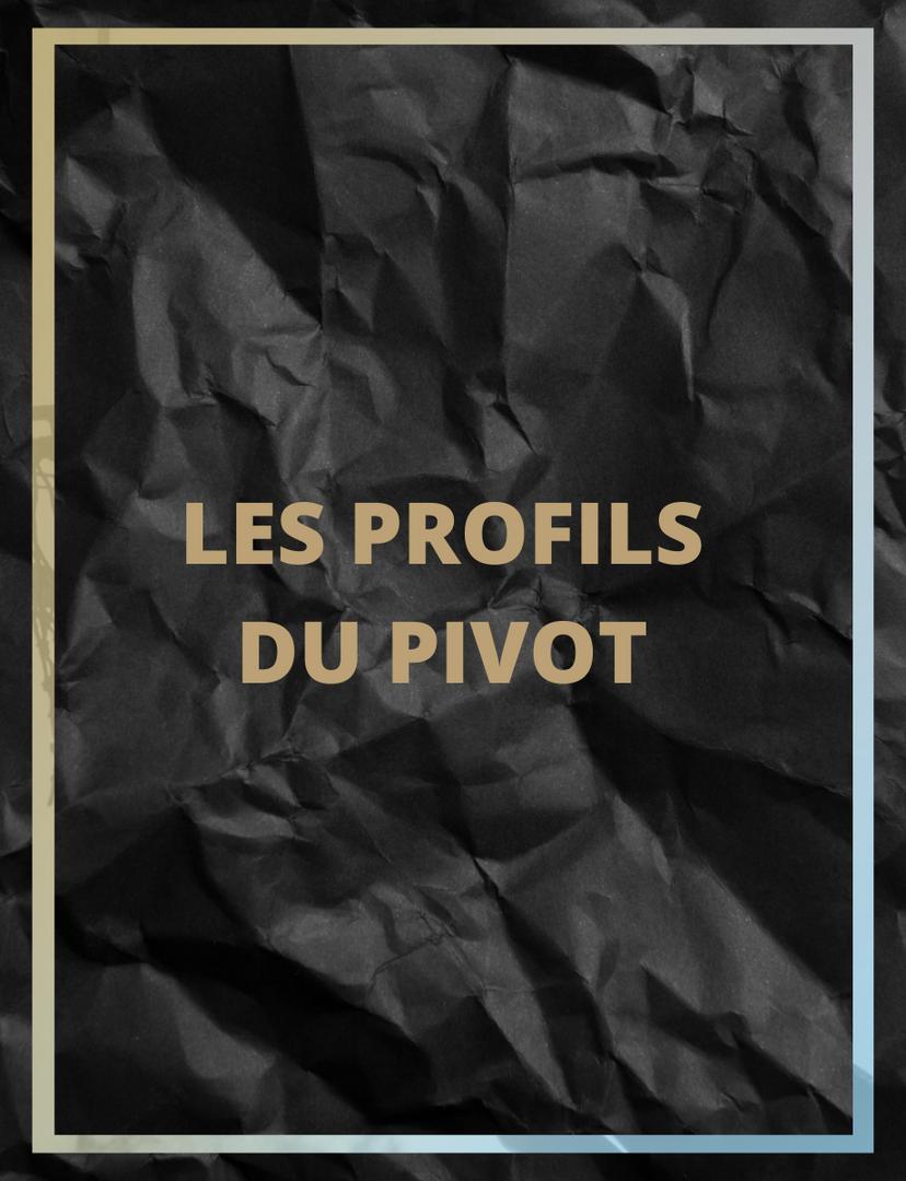 Les profils du pivot