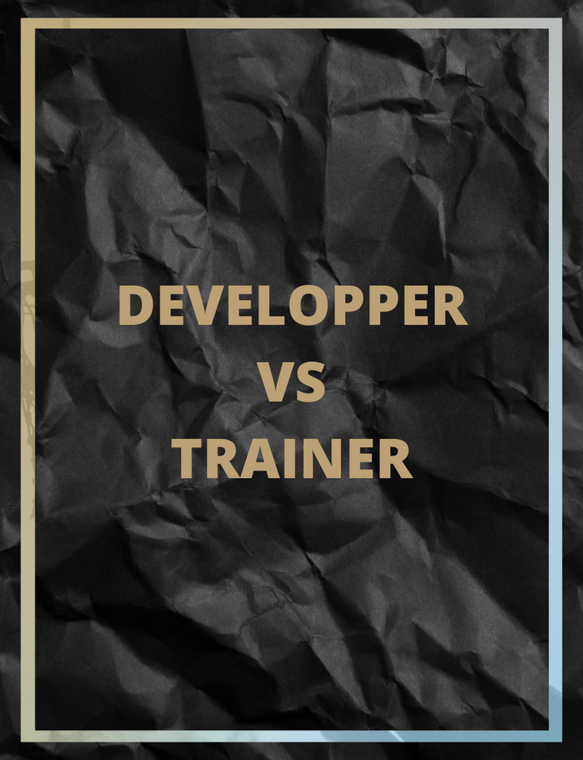 Développer VS Trainer