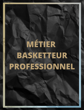 Métier basketteur professionnel