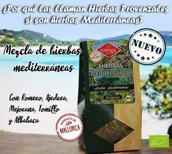 Nueva mezcla de Hierbas Mediterráneas