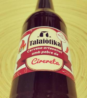 Edición limitada de cerveza Talaiòtika con Tap de Cortí y Cirereta