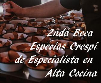 II Beca Especias Crespí (ESCYR)