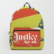 Justice For All backpack