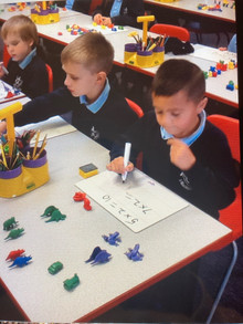 Maths in Class 1/2M