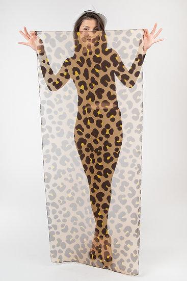 "Schal ""Leopard"""