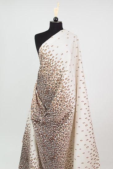 Baumwoll-Mischgewebe, Dégradé Leopard