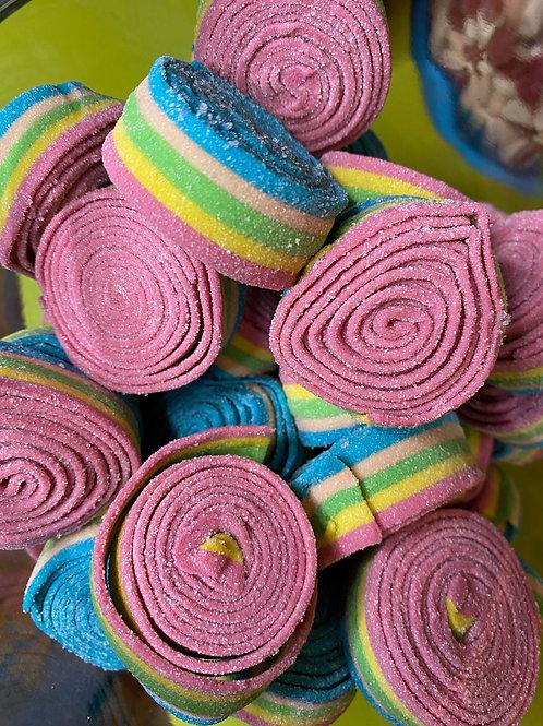 Rainbow Sour Rolled Belt