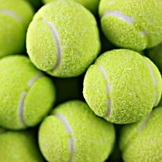 Sour Tennis Ball Gumballs