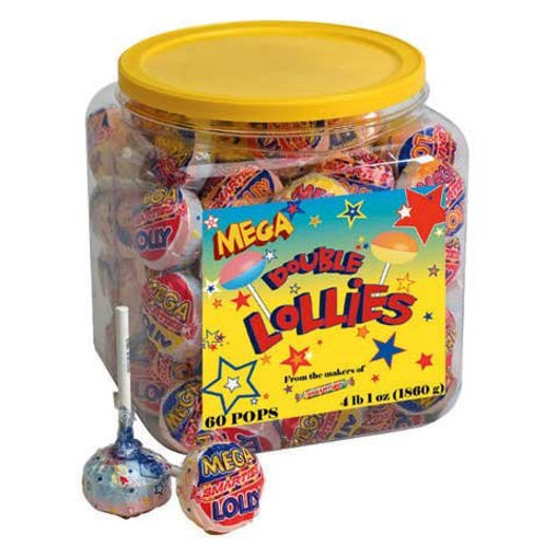 Mega Smartie Lollipop