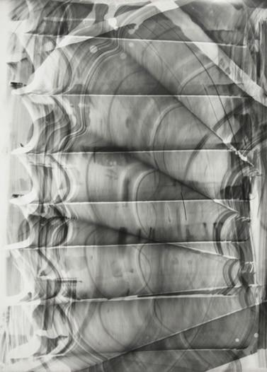 Blind Light 12, unique photogram,40 x 30cm