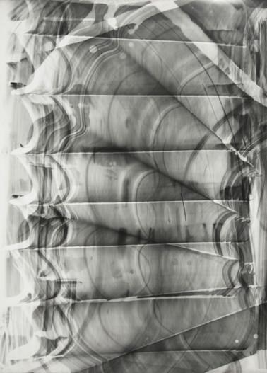 Blind Light 12, unique photogram 40 x 30cm