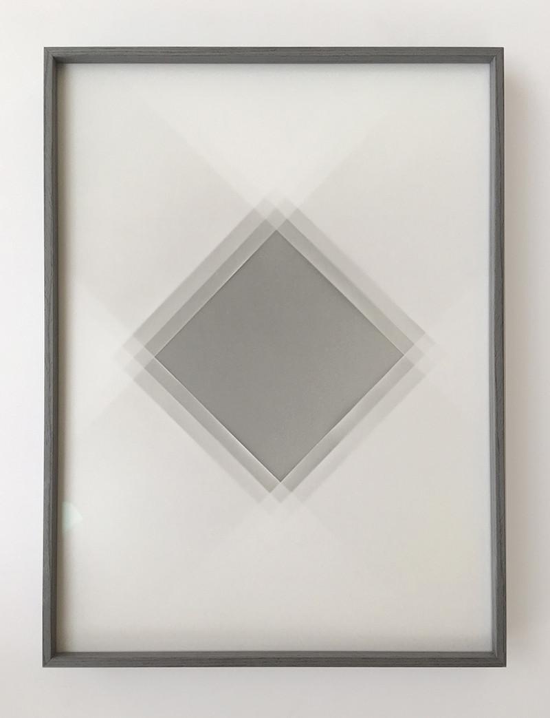 The Light is a Memory I, unique multiple print, 40 x 30cm