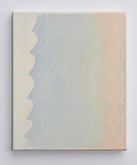 Breathe, acrylic on canvas, 30 x 20cm
