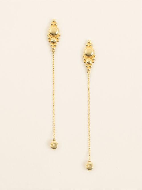 adjustable dots earring