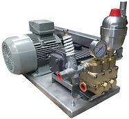 Насосное оборудования дя гидроиспытаний NP25/20-500
