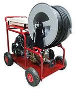 Аппарат высокого давления с бензиновым двигателем на базе насоса SPECK.