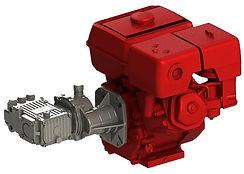 Плунжерный насос SPECK TRIPLEX с бензиновым двигателем