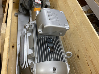 Высокотемпературный насос TOEGN с двигателем 55 кВт.