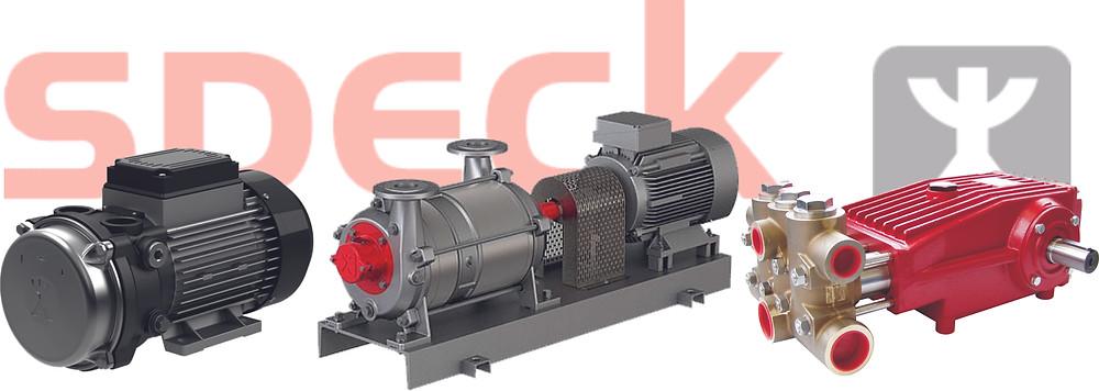 Плунжерные, центробежные и вакуумные насосы Speck Pumpen