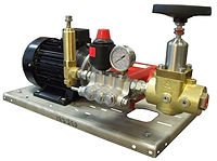 Плунжерый насос для испытаний высоким давлением P21/16-200