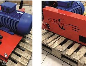 Плунжерный насос высокого давления P52/120-120 с электродвигателем 22 кВт.